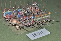 25mm classical / greek - ancient hoplites 32 figs - inf (18711)