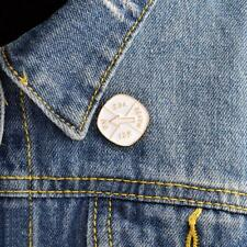Turnplate Decision Enamel Brooch Funny Lapel Pins Badges Clothing Accessories