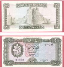 "LIBYE BILLET DE 5 DINARS NON DATE""1972"" REF : 36b SPL"