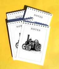 Ruston & Proctor Steam Engine, Pack of 4 A6 Note Pad Gift Set