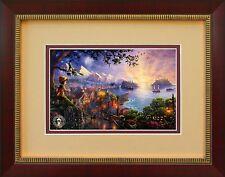 PINOCCHIO WISHES UPON A STAR  Thomas Kinkade Framed  Disney Picture Art #02