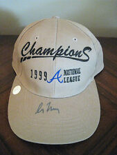 Autographed Greg Maddux baseball hat
