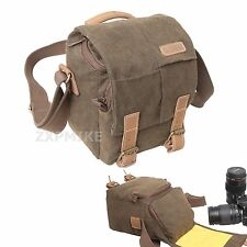 Canvas Walkabout Messenger Camera Bag For Samsung NX300 NX1000 NX1100