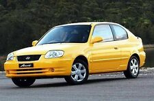 HYUNDAI ACCENT 2000-2005 WORKSHOP SERVICE REPAIR MANUAL ON CD