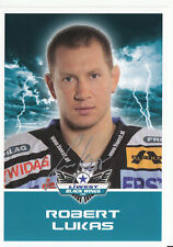 Robert Lukas Black Wings Linz 2011-12 TOP AK Orig. Sign. Eishockey +A38218