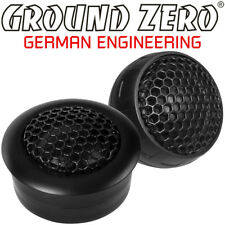 Ground ZERO gzht 25x 25 MM TWEETER COPPIA DI ALTOPARLANTI TWEETER CON CONDENSATORE