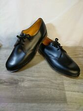 Dr Martens Black Leather Made in England 3 Hole Air Wair Shoe UK Size 11 - READ*