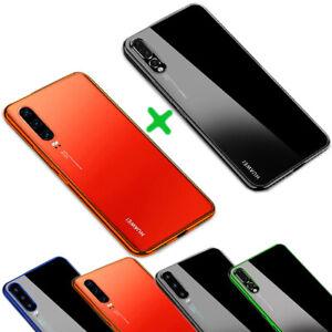 Für Huawei P30,P30 Pro, P30 Lite New Edition Hülle Case Cover Bumper+ Nano Folie