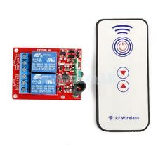 12V Two Channal 2CH RF Wireless Remote Controll Switch Relay Module