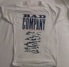 Bad Company 1990 Holy Water World Tour Concert Size S/M  Rare VTG, SCREEN STARS