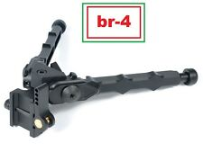 Green Blob Outdoors (br - 4) Bolt Action Rifle Bipod Black Tactical 6 inch