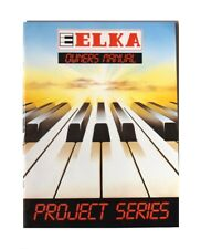 ELKA EP6 EP8 EP10 EP12 X30 Owner's Manual Bedienungsanleitung Gebruiksaanwijzing