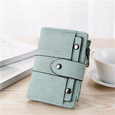 Fashion Womens Short Clutch Wallet Leather Card Holder Coin Bifold Small Purse