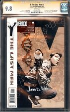 Y THE LAST MAN 1 CGC 9.8 SS SIGNED BY DR JAMES D WATSON FOUNDER OF DNA NETFLIX