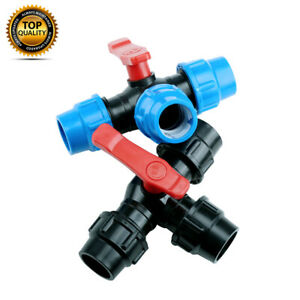 Plastic Compression Water Pipe Tee Fitting  20MM 25MM 32MM 40MM 50MM