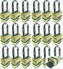 Combination Lock Set Master 1175LH (Lot 18) Resettable Long Brass Sealed Carbide