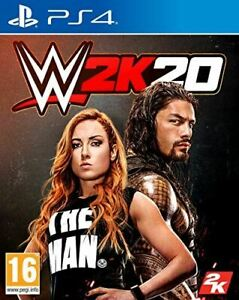 WWE 2K20 (PlayStation 4) *Brand New & Sealed* PS4 Fighting Game