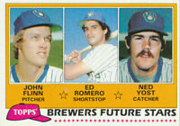 Ned Yost 1981 Topps #659 Milwaukee Brewers card