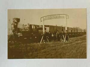 Union Pacific Railroad The Directors of the UPPR at 100th Meridian Photo 1866
