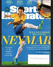 2017 Sports Illustrated Brazil Soccer Neymar da Silva Santos Jr. Subscrip. Issue