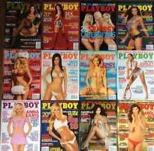 Playboy Magazine Lot Of 12 Issues 2008 Complete Year