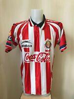 Chivas De Guadalajara 1998/1999 Home Sz L Atletica soccer shirt jersey football