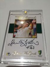 Original Brett Lee Cricket Trading Cards