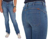 Wrangler Damen Jeanshose Sara Narrow Cobalt Blau W27 - W34