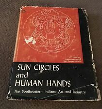 Sun Circles Human Hands Signed 1st Edition 1957