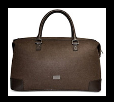 e0fe187a8a Hugo Boss Brown Weekend Duffle Gym Travel Overnight Holdall Bag Luggage