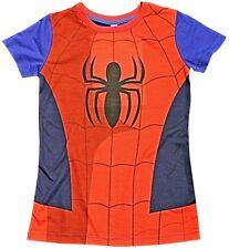 Marvel Comics SPIDERMAN COTONE T SHIRT bambini maglia ufficiale taglia 2-3 anni