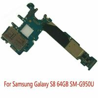Replacement Main Motherboard Logic for Samsung Galaxy S8 64GB SM-G950U Unlocked