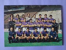 CARTOLINA UFFICIALE POSTCARD CALCIO FIORENTINA SQUADRA TEAM 1976-77 NEW-FIO