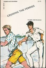 CRUISING THE FERRIES 1980s Adam's Gay Readers Pulp Fiction Paperback Novel NM