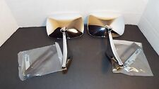 2 NEW 68 69 CAMERO, 1970-1971-1972 CHEVELLE & ELCAMINO Chrome Pair Door Mirror