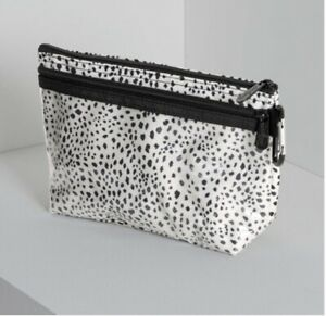 *NEW* Thirty One CLEAR CLIP POUCH in Dainty Speckles - phone case