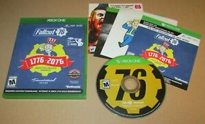 Fallout 76: Tricentennial Edition (Unused Code) for Xbox One Fast Shipping!