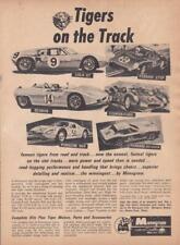 1965 Monogram Slot Cars Ad / Cooper-Ford/Lola/Scarab/ Porsche 904/Ferrari Gto