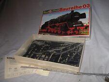 X356.. RARE HO REVELL 2166 GERMAN BAUREIHE03 4-6-2 STEAM LOCOMOTIVE plastic kit