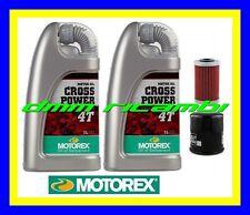 Kit Tagliando KTM 640 LC4 ENDURO 98>05 Filtro Olio MOTOREX Cross Power 10W50