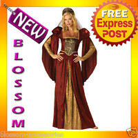 C630 Renaissance Maiden Medieval Party Fancy Dress Halloween Adult Costume