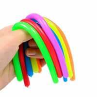 Reduce Anxiety Noodle Shape 8 Pcs Stretchy String Toy for Stress Relief Sensory