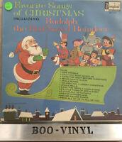 disneyland vinyl favorite songs of christmas Lp Record In Ex Con