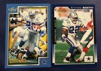 1999 & 2000 Score # 53 # 64 EMMITT SMITH Lot 2 Dallas Cowboys Great Cards !