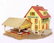 "Faller HO 1:87 COUNTRYSIDE HOTEL ""GRUNER BAUM"" Ready Built House Kit Fair `75"