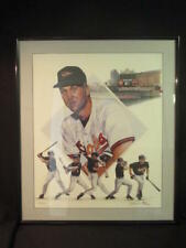 Call Ripken, Jr. - James Fiorentino Signed Auto 278 Home Runs Lithograph