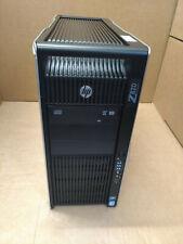 Station de travail HP Z820 16C/32T, 2x Xeon E5-2687W 3.10GHz, 128 Go Ram, Quadro 6000