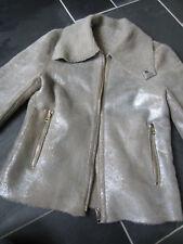 Paul Smith MAINLINE Metallic Shearling Jacket, LS Leather Jacket RRP £2100