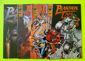 Plastron Cafe 1 2 3 4 Vf+ Lot Run Complete Early Tmnt Mirage Studios