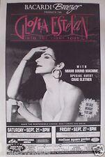 "Gloria Estefan ""Into The Light Tour"" 1991 New York City Concert Poster"